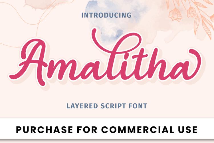 Amalitha Font