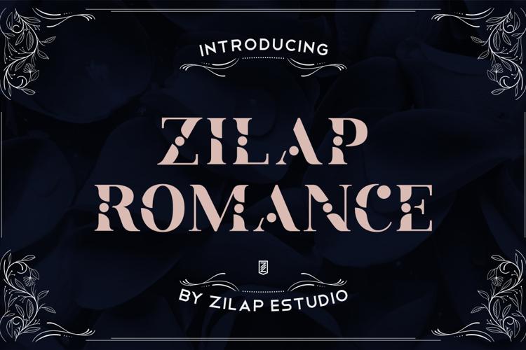 Zilap Romance Font