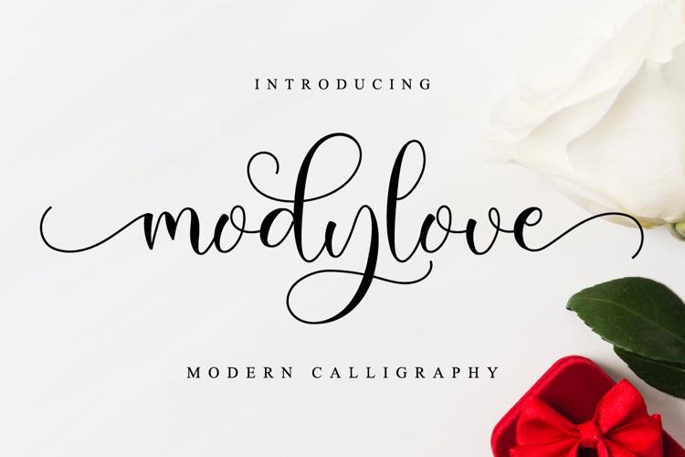 Modylove Font