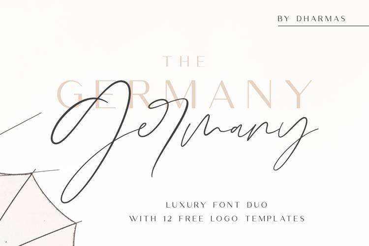Germany Script Font
