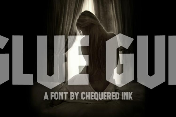 Glue Gun Font