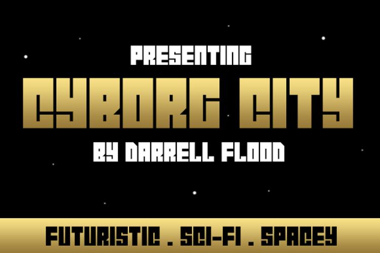 Cyborg City Font