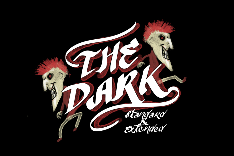 Vtks The Dark Font