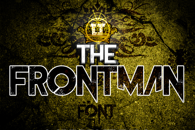 The Frontman Font