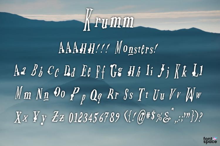 Krumm Font