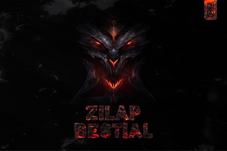 Zilap Bestial Font