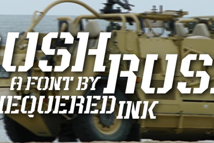 Rush Rush Font