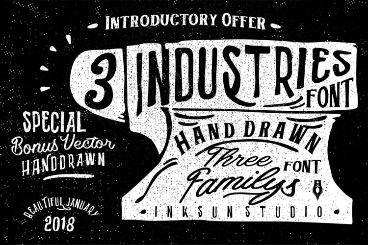 Industries - Hoe Font