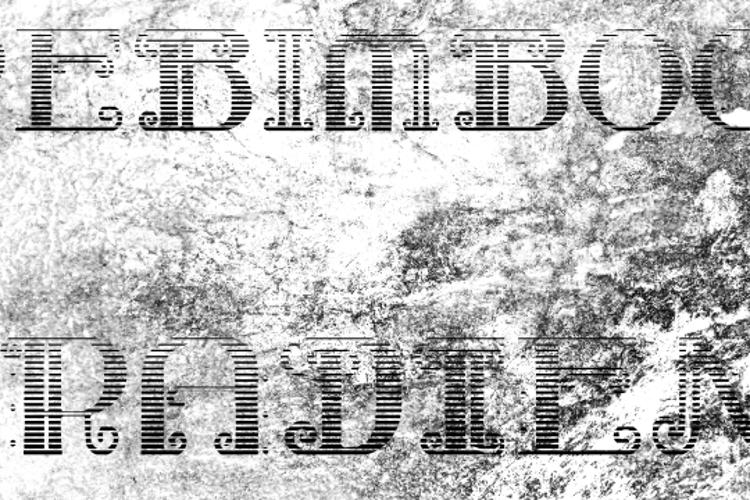 Rebimboca Gradient Font
