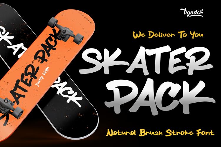 Skater Pack Font