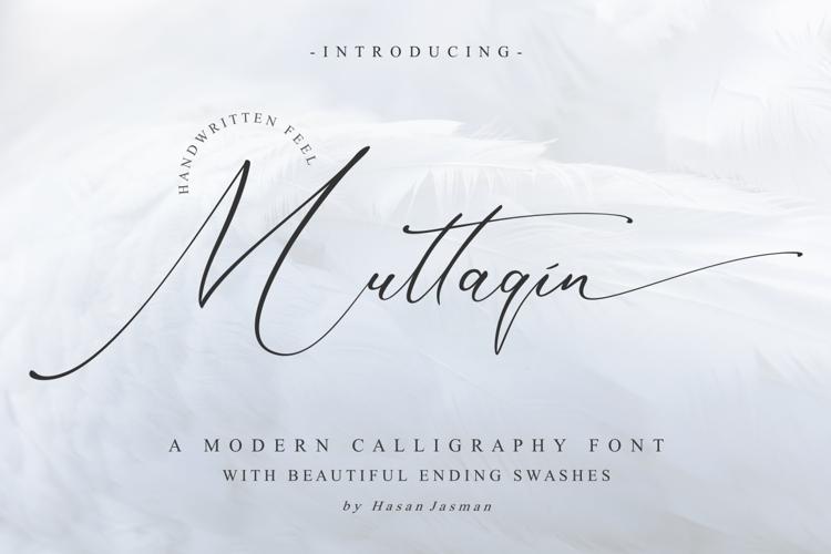 Muttaqin Font