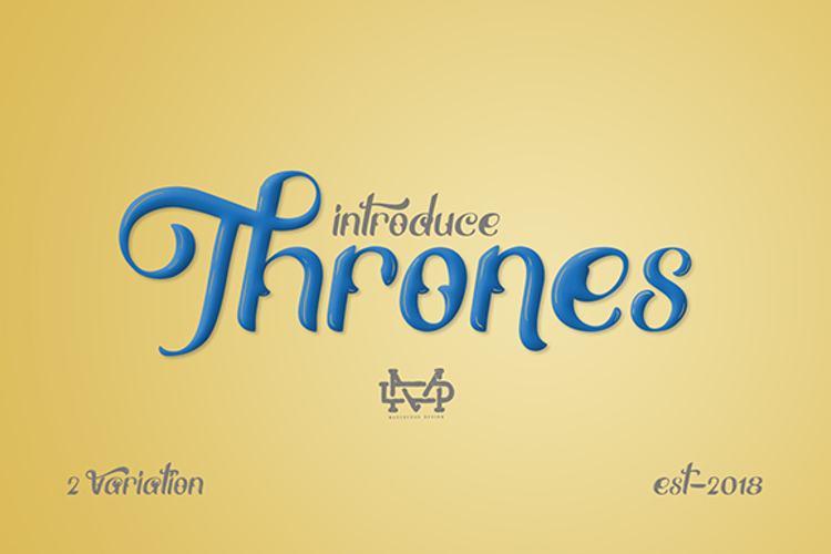 Thrones Font