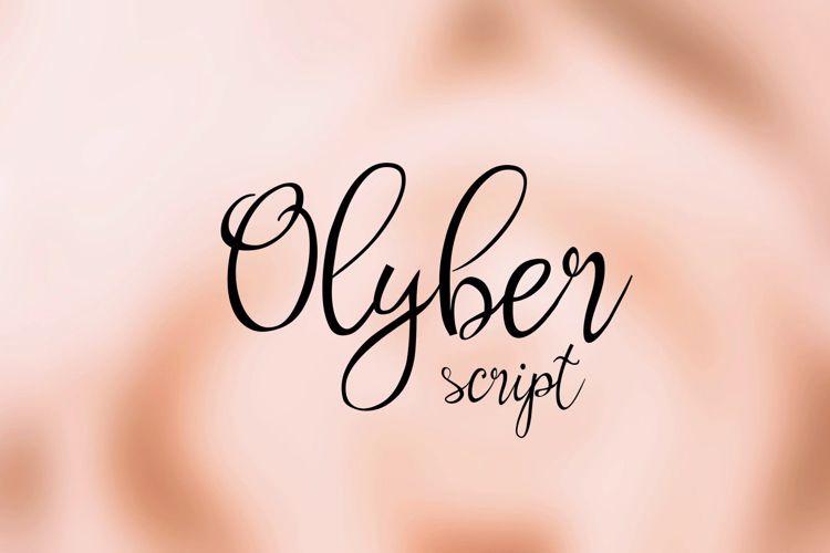 Olyber Font