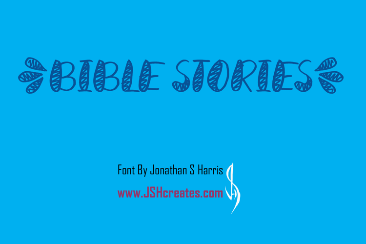 Bible Stories Font