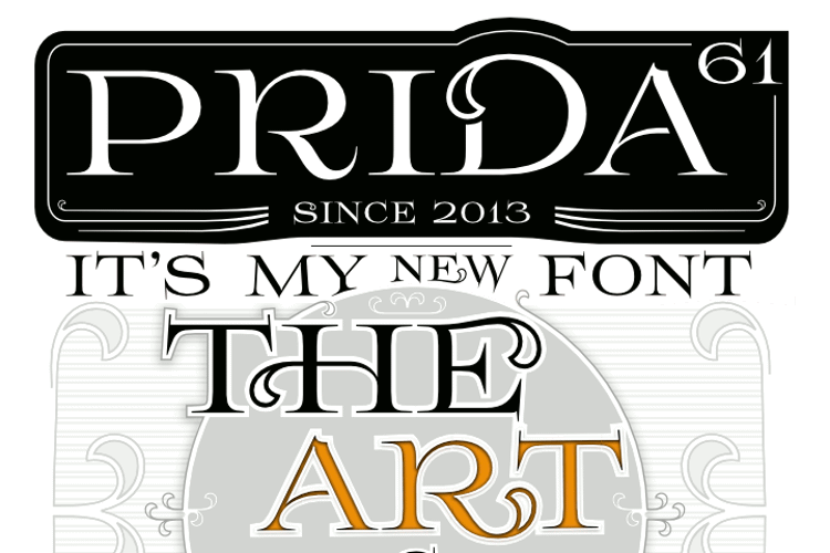 Prida61 Font