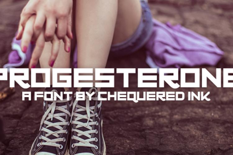 Progesterone Font