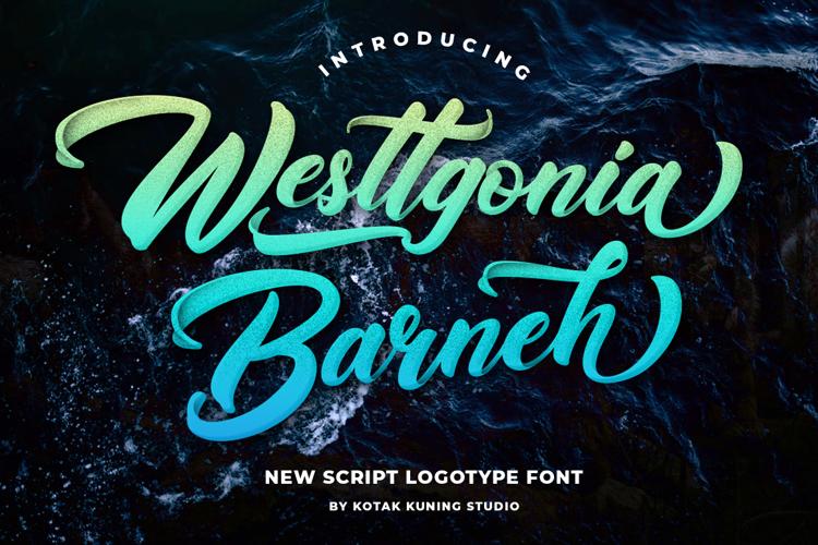 Westtgonia Barneh Font