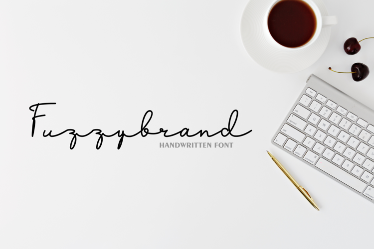 Fuzzybrand Font