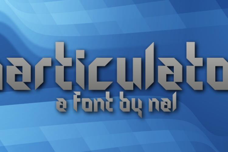 Particulator Font