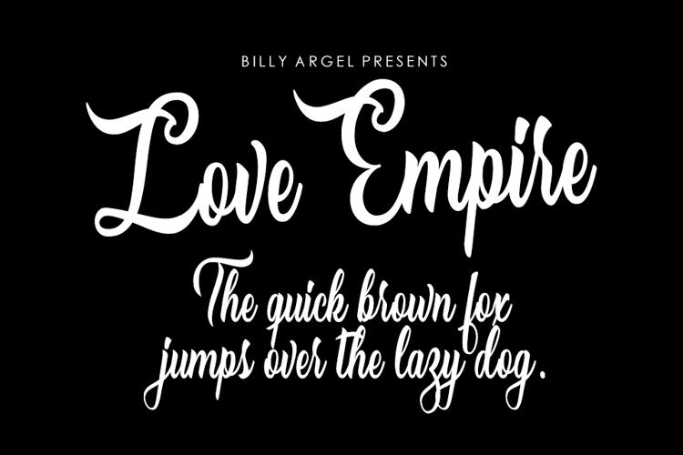 Love Empire Font