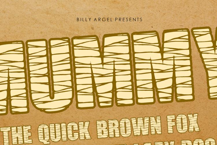 MUMMY Font