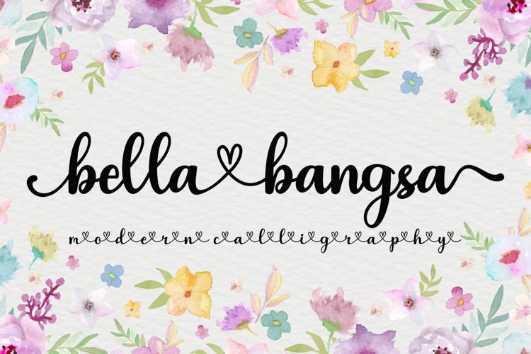 bellabangsa Font