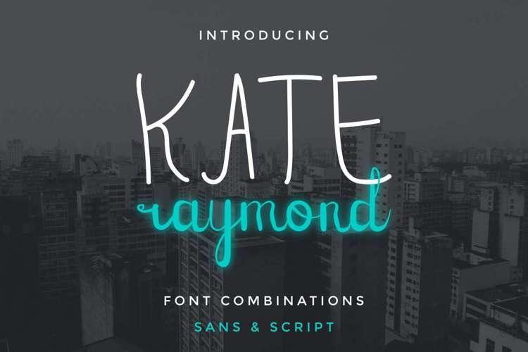 Kate Raymond Script Font