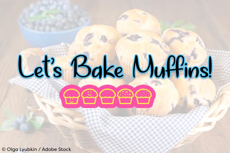 Lets Bake Muffins Font