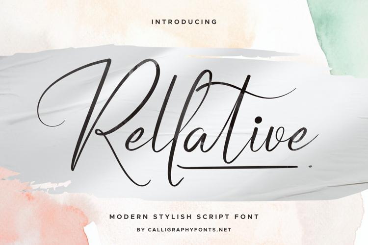 Rellative Font