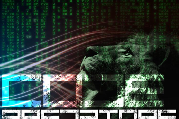 Code Predators Font