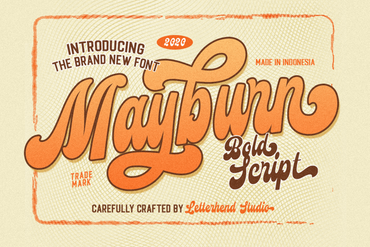 Mayburn Font