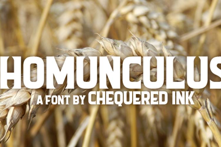 Homunculus Font