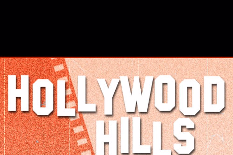 SF Hollywood Hills Font