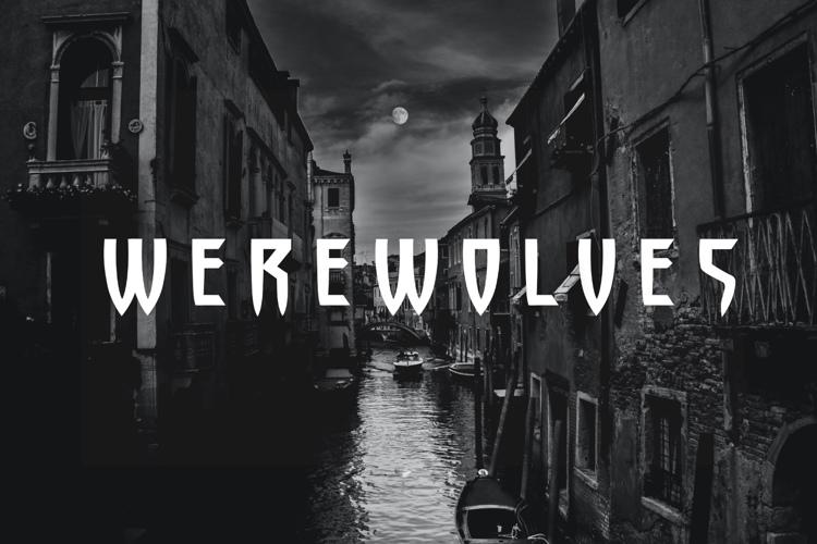 werewolves Font