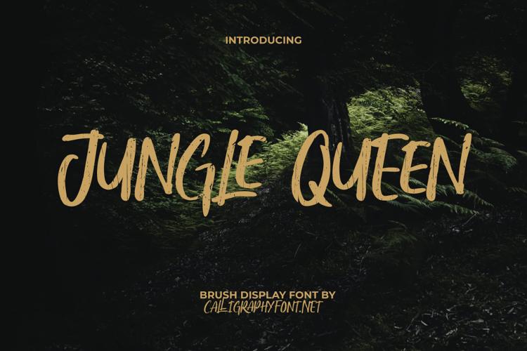 Jungle Queen Font