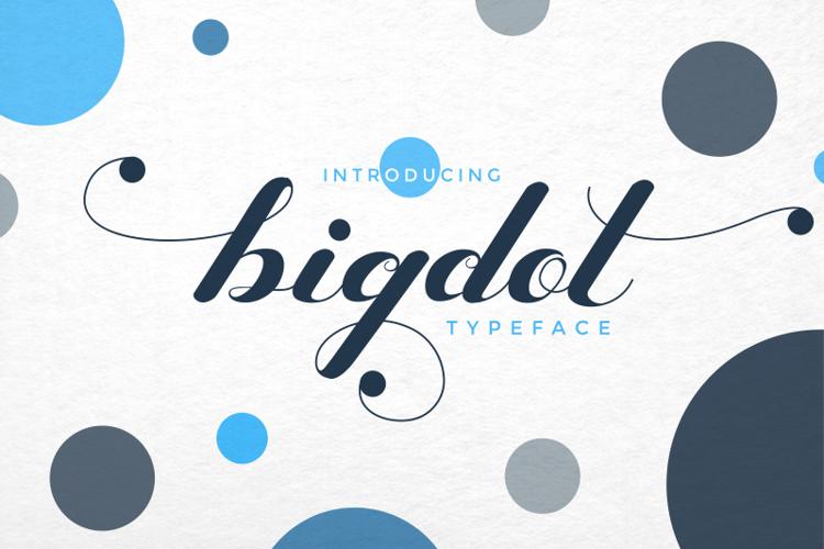 Bigdot Font