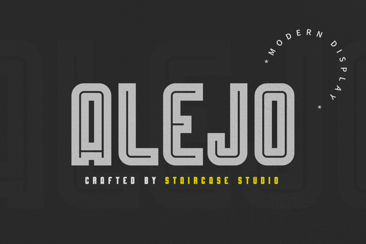 Alejo Line Font
