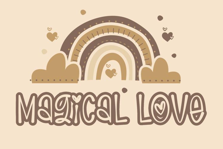 Magical Love Font