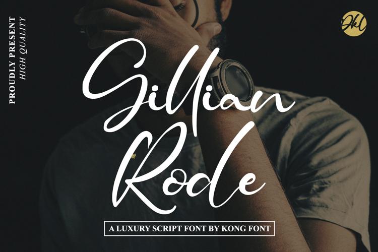 Gillian Rode Font