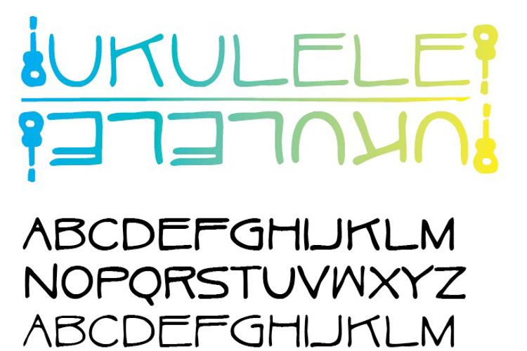 Ukulele Font