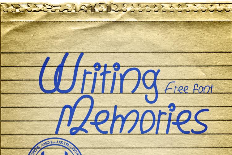 Writing Memories Font