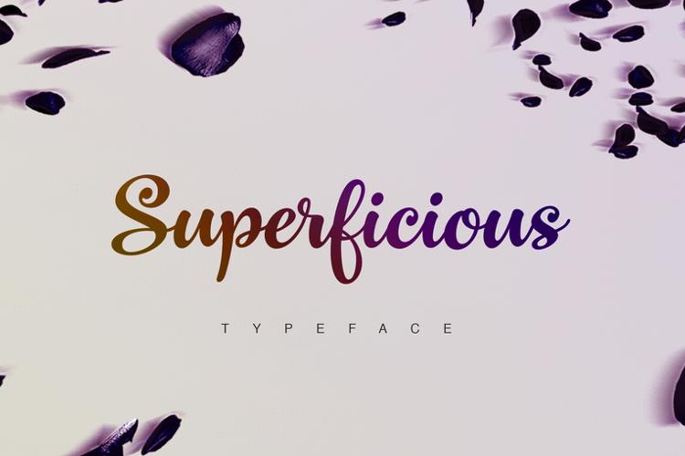 Superficious Font