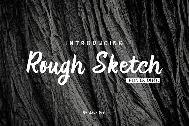 Rough Duo Font