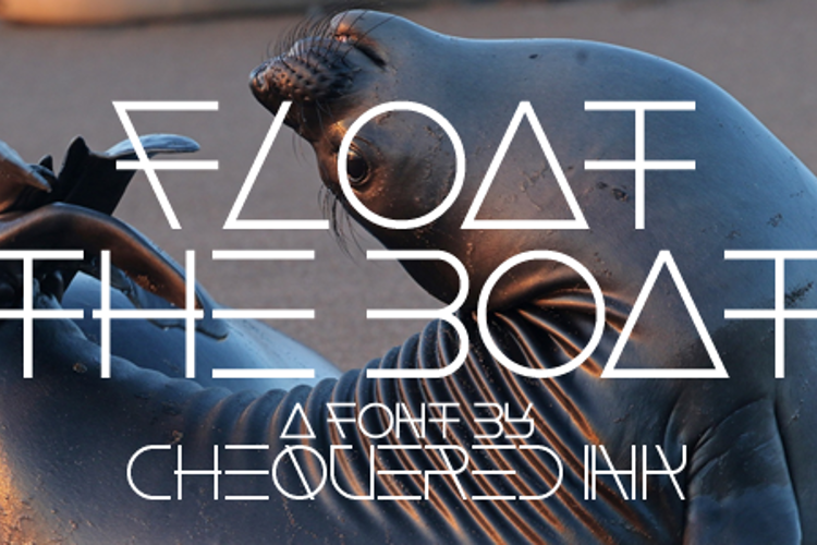 Float The Boat Font