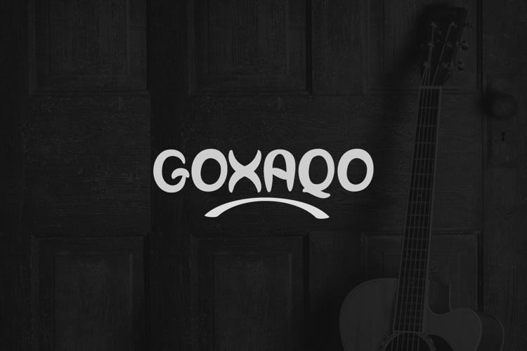 Goxaqo Font