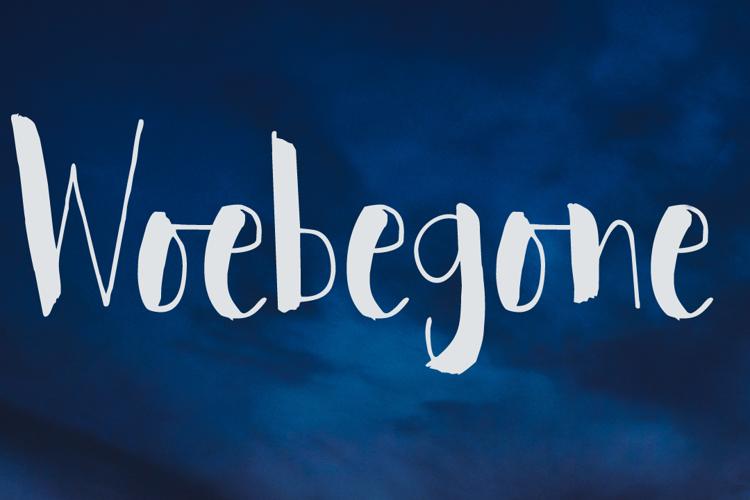 Woebegone DEMO Font