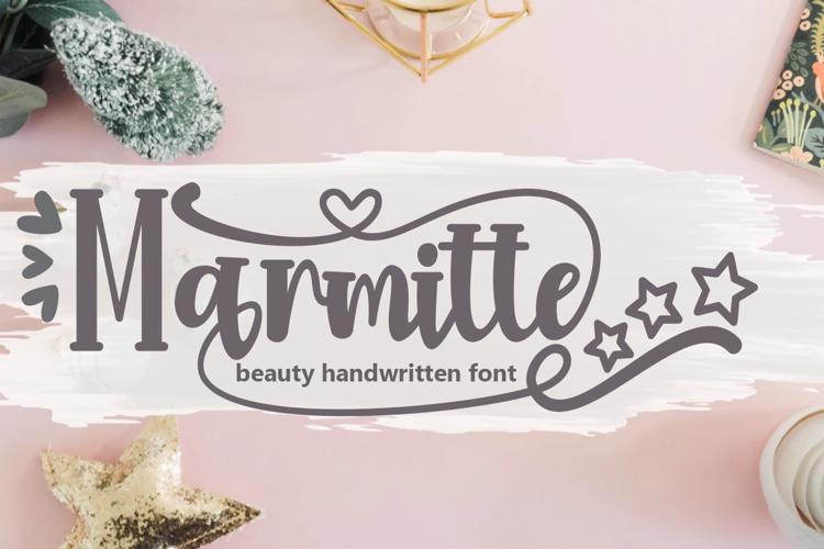 Marmitte Font