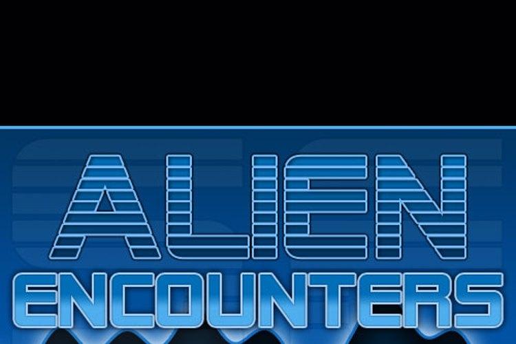 SF Alien Encounters Font