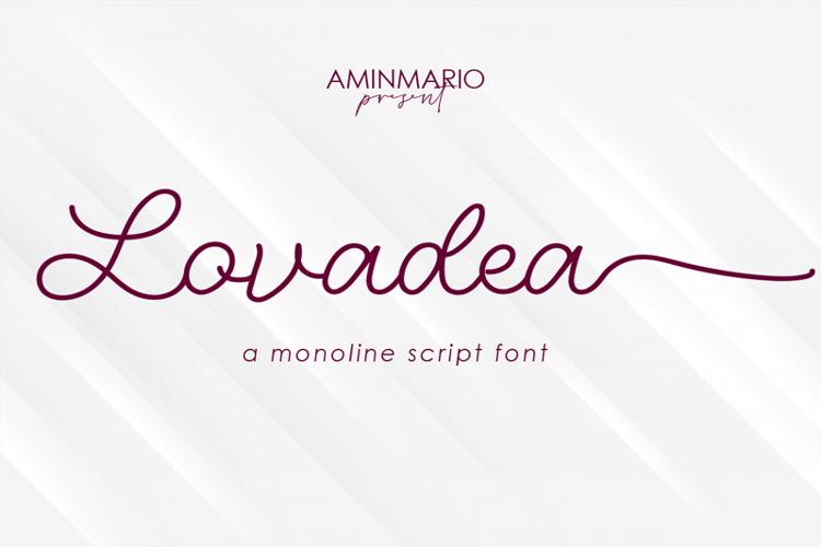 Lovadea Font
