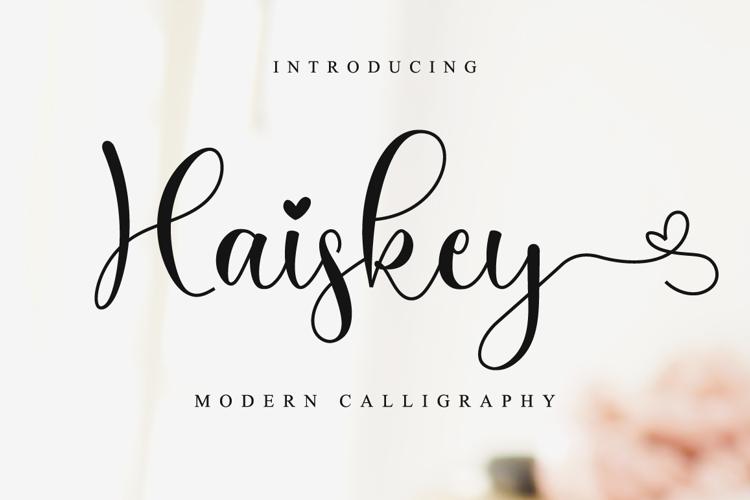 Haiskey Font